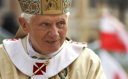 Pope Benedict XVI says he is preparing for the journey home IMAGE