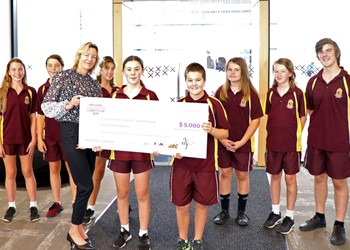 St Pius X Awarded School National Songwriting Winners  IMAGE