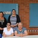 Celebrating Volunteer Week: Helen Webber, Freda Younan, Kimberley Day and Naomi Kinkade at Holy Name Forster Image