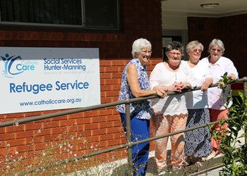 Spend time with us at Refugee Service IMAGE