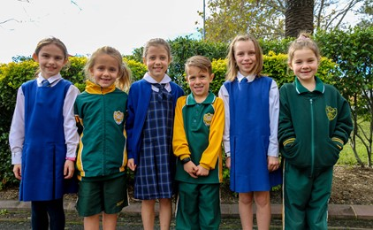 Image:St Joseph's and Holy Family celebrate St Benedict's Feast Day