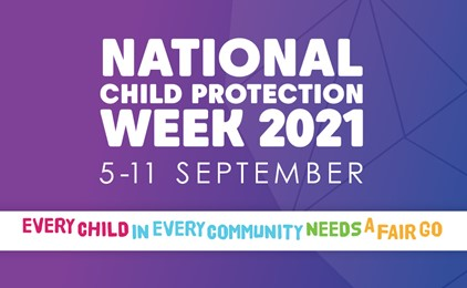 Image:National Child Protection Week is coming up – Here's how you can get involved