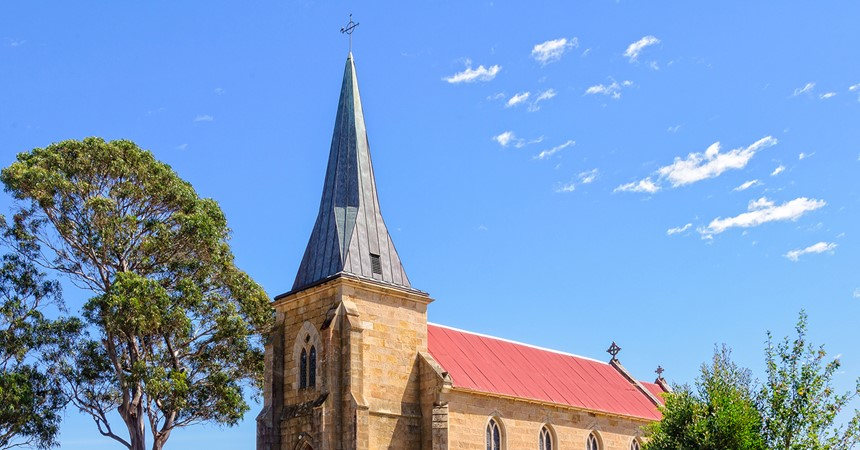 St John's Richmond: the oldest Catholic Church in Australia IMAGE
