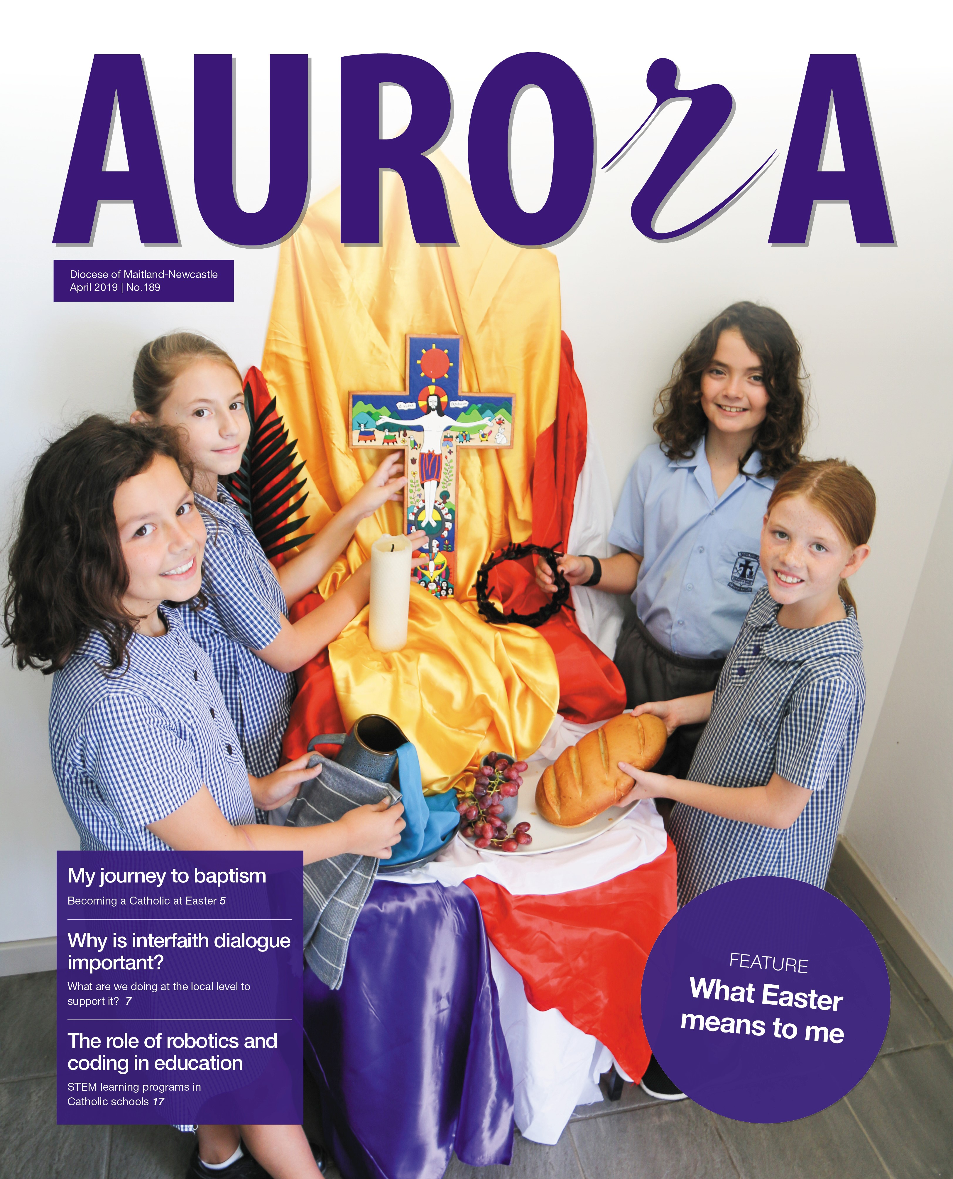 Aurora April 2019 Cover Image