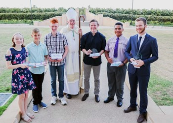 Bishop's Awards for 2019 recognise efforts of young students  IMAGE