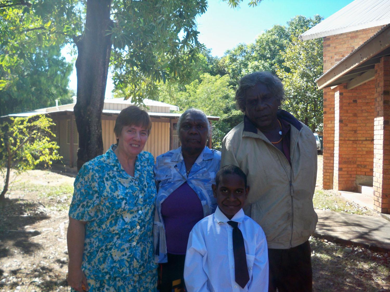 Sr Christine O'Connor: Heading home from Kununurra