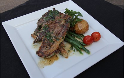TASTE : Parsley, lemon & rocket marinated lamb IMAGE