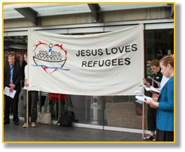 Jesus loves refugees