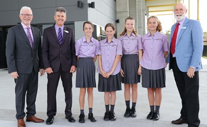 New Benedict Building at St Bede's officially opened IMAGE