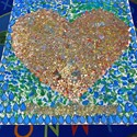 Many hearts make one large 'heart of gold'  Image