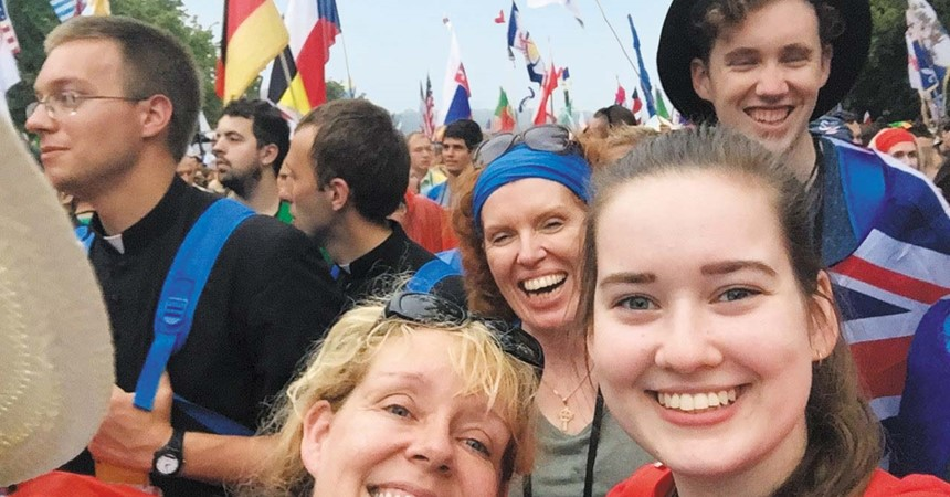 Mother and son share enthusiasm for ACYF IMAGE