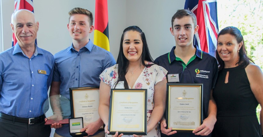 St Clare's Taree's Young Person of the Year IMAGE