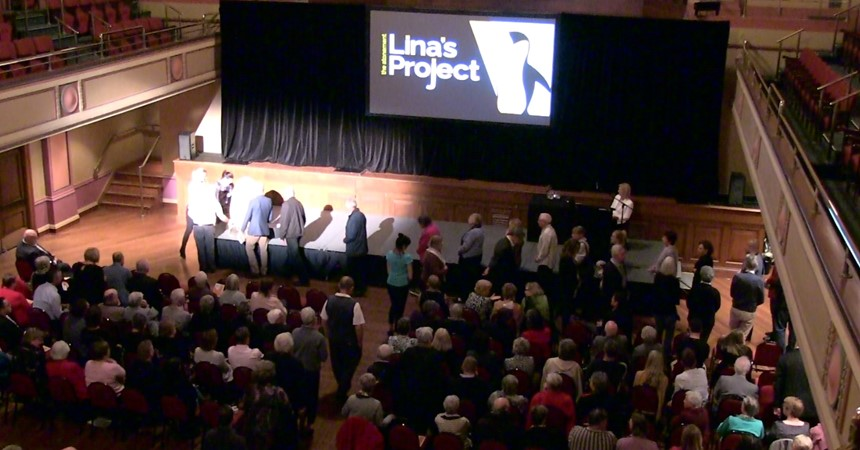 Community comes together for Lina's Project IMAGE