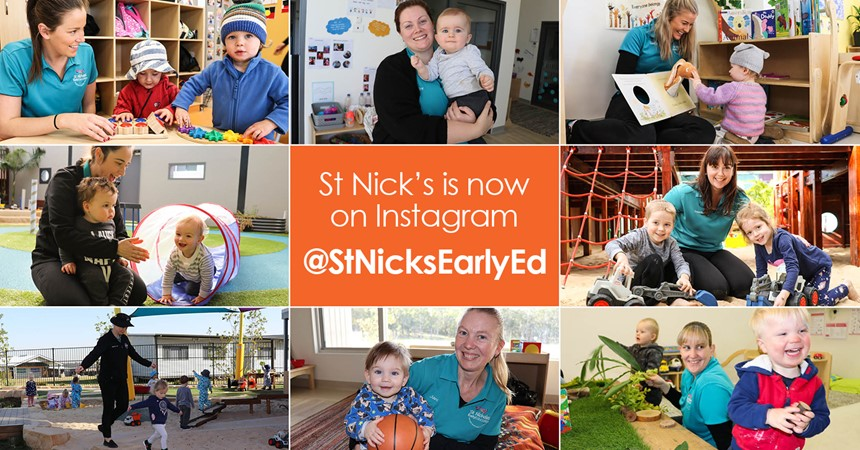 Tag your St Nick's Kid on Instagram IMAGE
