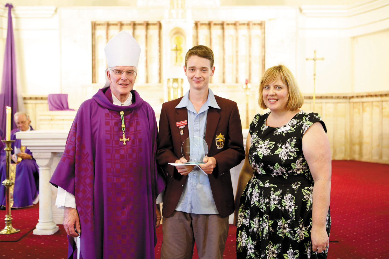 Bishop's Awards recognise community efforts of young Catholics