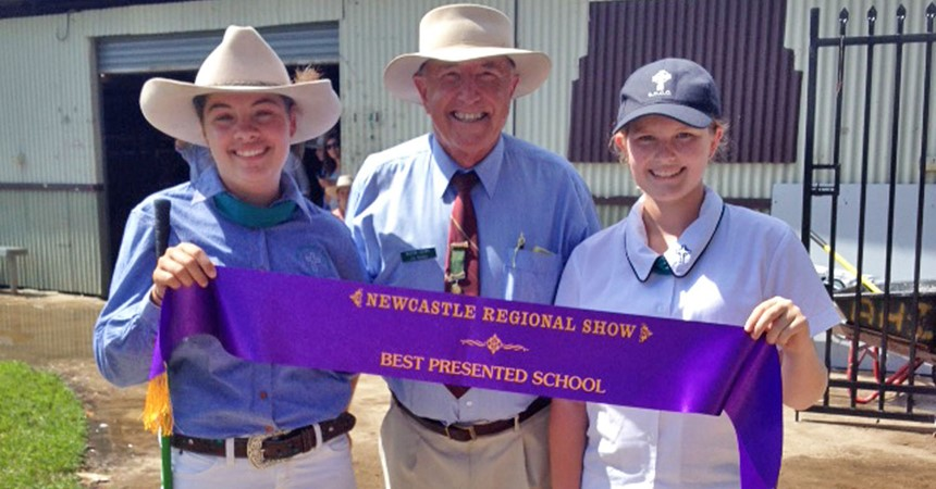 St Catherine's Cattle team moooved to Best Presented School  IMAGE