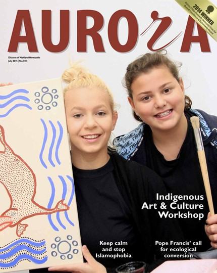 Aurora Magazine July 2015 Cover