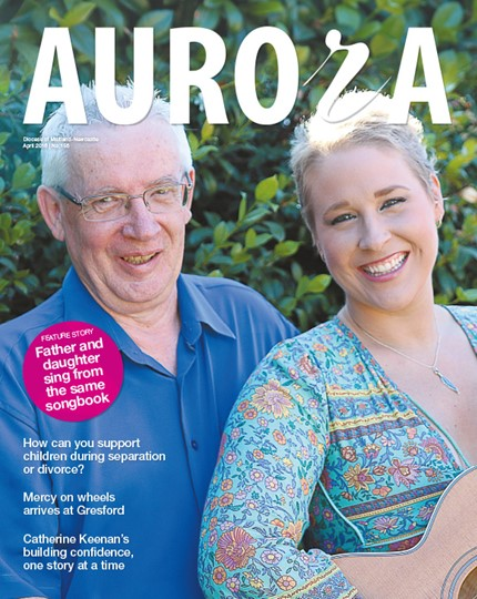 Aurora Magazine April 2016 Cover