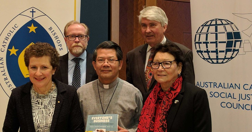 Bishops call for an inclusive and sustainable economy IMAGE