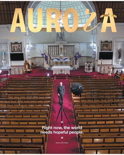 Aurora Magazine April 2020 Cover