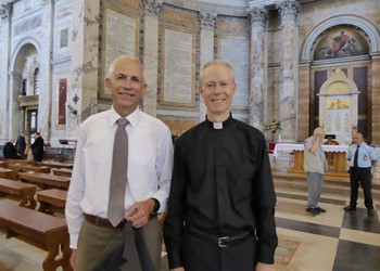 Welcoming a new deacon to the diocese IMAGE