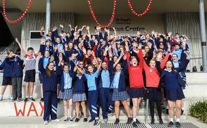 Image:Anti-Bullying Day at St Paul's Booragul