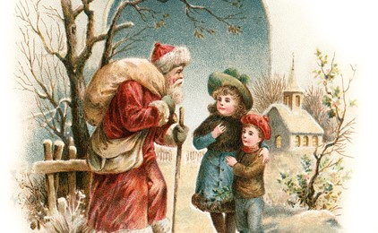 St Nicholas is coming to town IMAGE