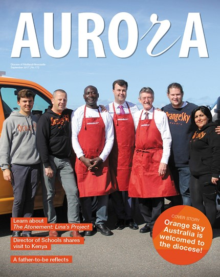 Aurora Magazine September 2017 Cover