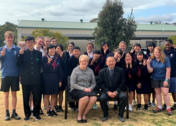A cultural immersion at St Joseph's Lochinvar IMAGE