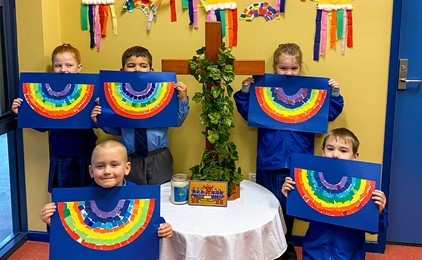Image:Wellbeing remains a focus at Holy Spirit, Abermain