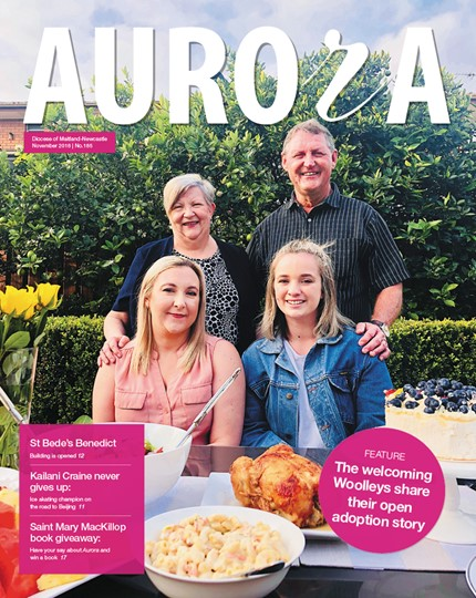 Aurora Magazine November 2018 Cover
