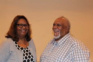 Indigenous survivor and artist speaks at Caritas Dinner