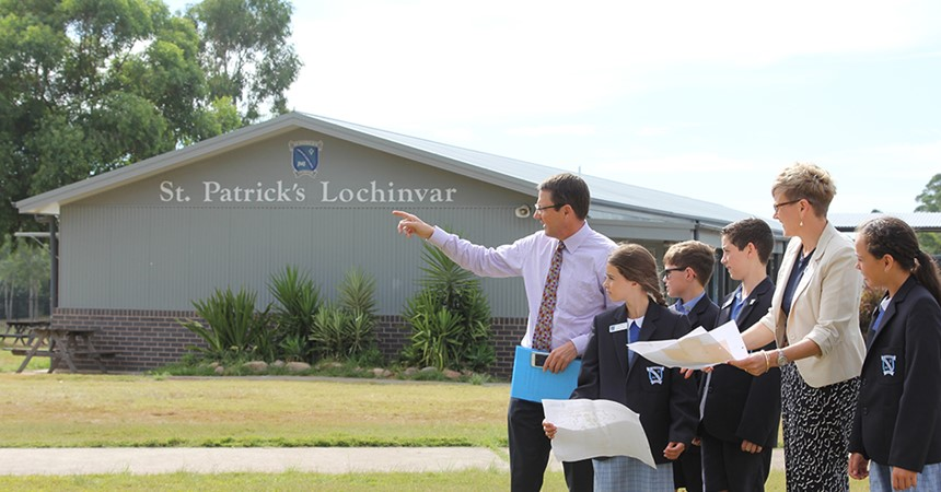 St Patrick's Lochinvar to benefit from funding announcement IMAGE