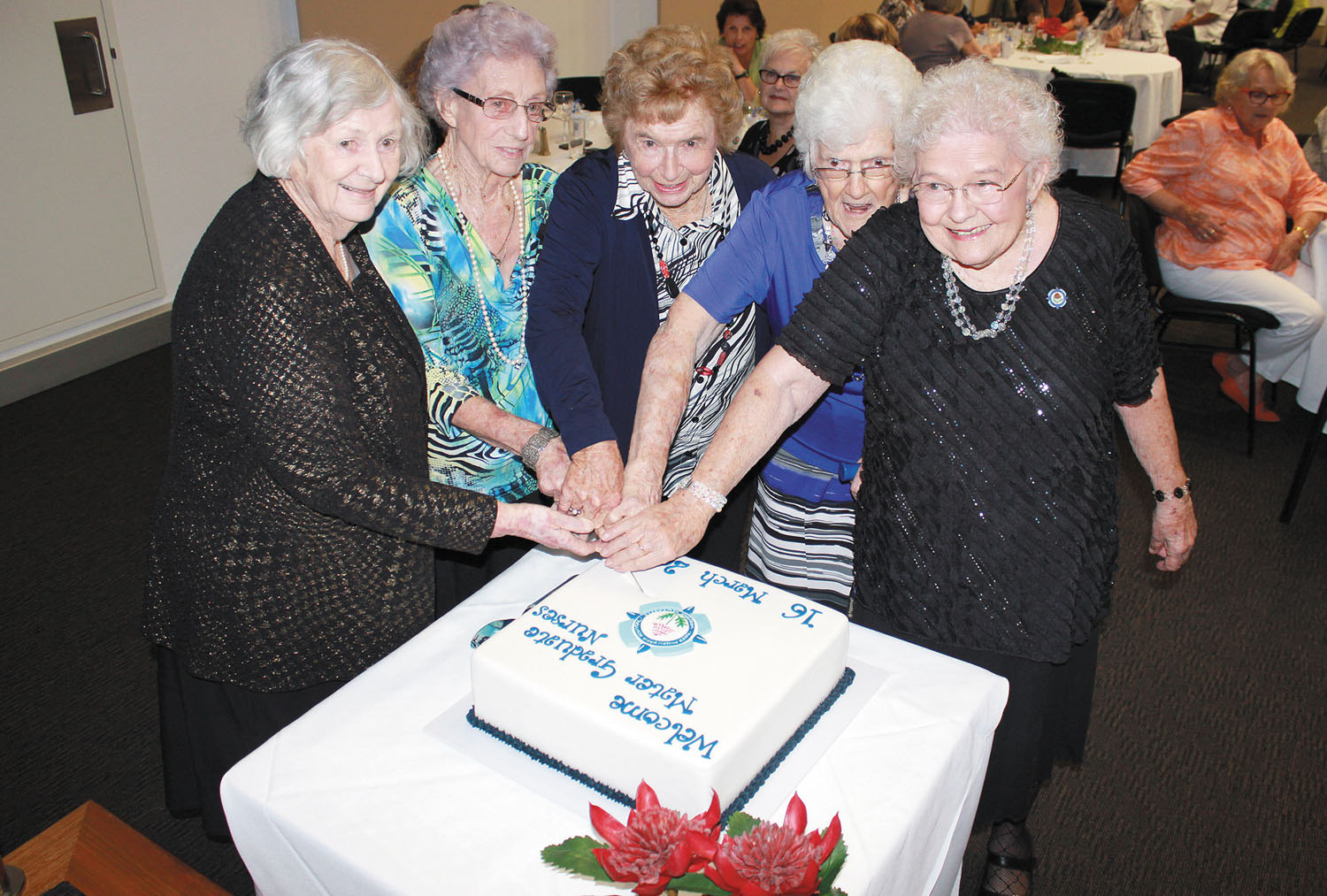Mater Graduate Nurses gather for 70th reunion