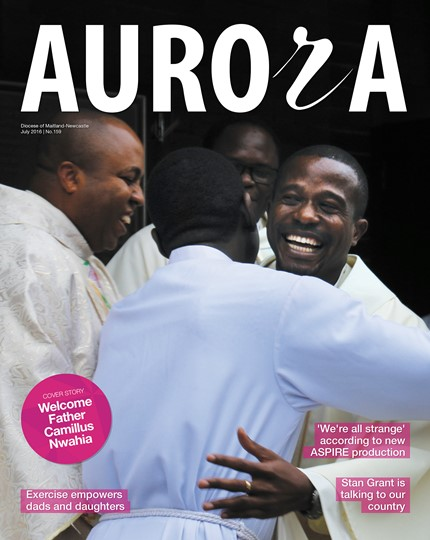 Aurora Magazine July 2016 Cover