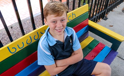 Image:Living on the edge at St Columba's Adamstown