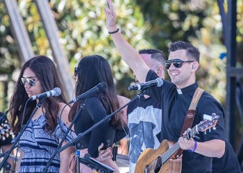 Fr Rob Galea releases ACYF theme song IMAGE