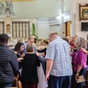 Liturgy Matters: October 19 - What a wonderful day! Fanning the Flame of RCIA Workshop Day Image