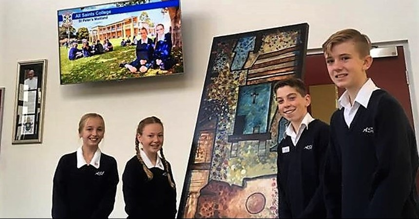 St Peter's Campus receives specially commissioned icons IMAGE