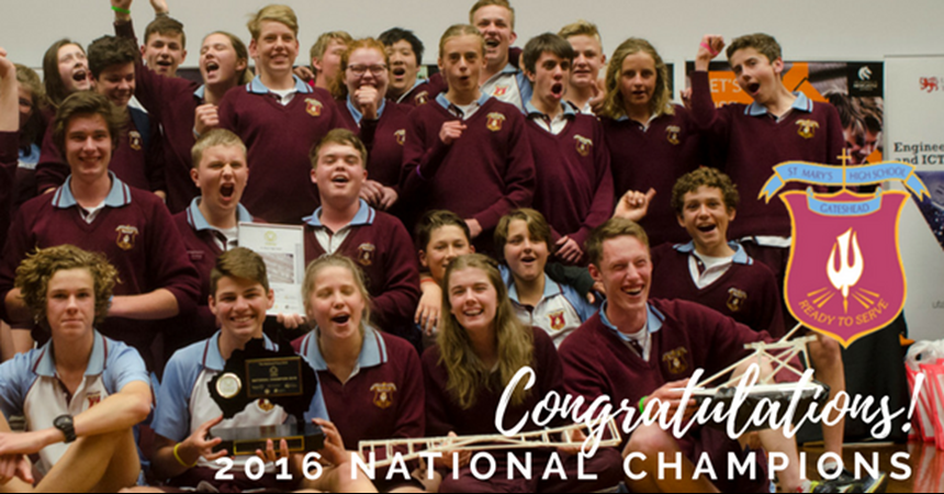 St Mary's continue winning streak at National Science and Engineering Challenge IMAGE
