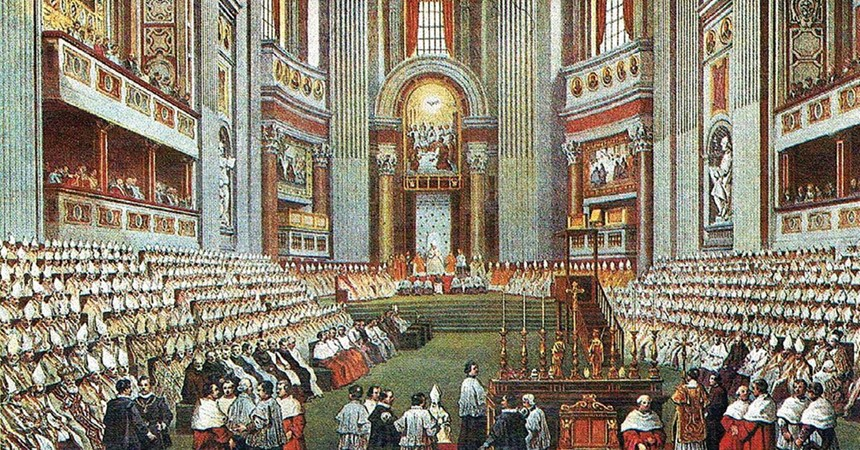 Reception and implementation of the First Vatican Council IMAGE