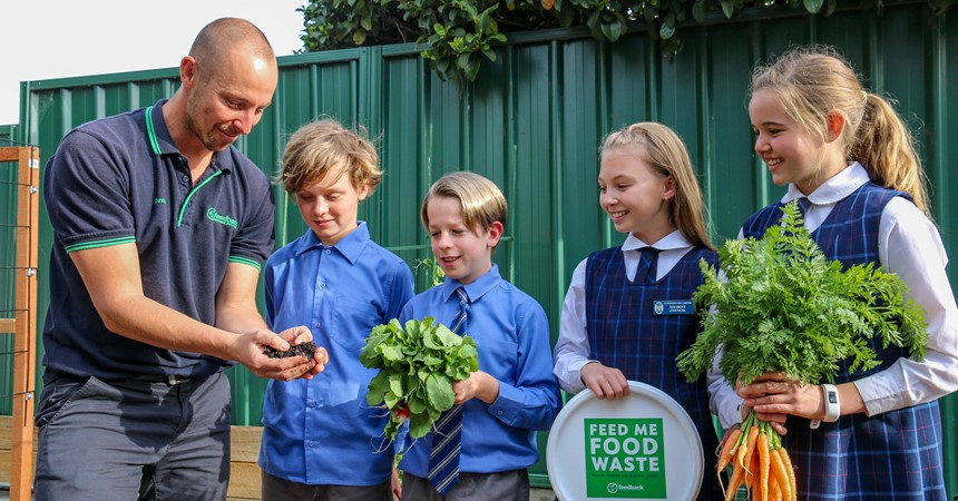St Therese's New Lambton goes to war against food waste IMAGE