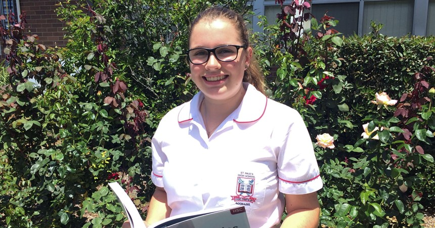 St Paul's student selected in National Schools Constitutional Convention IMAGE