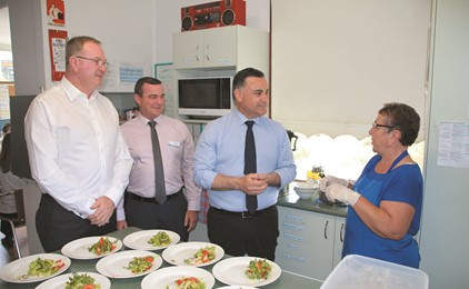 Deputy Premier attends Taree Community Kitchen celebrations IMAGE