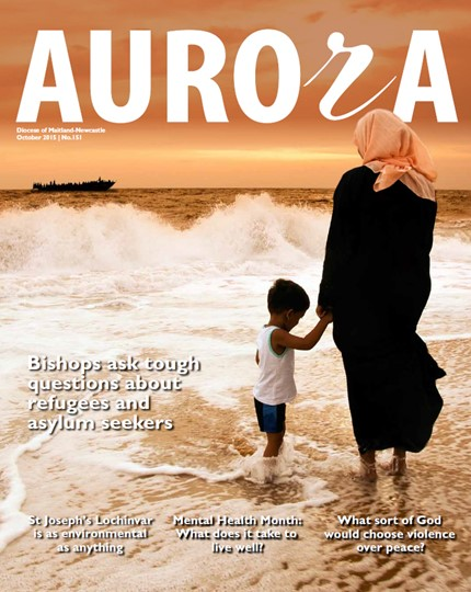 Aurora Magazine October 2015 Cover