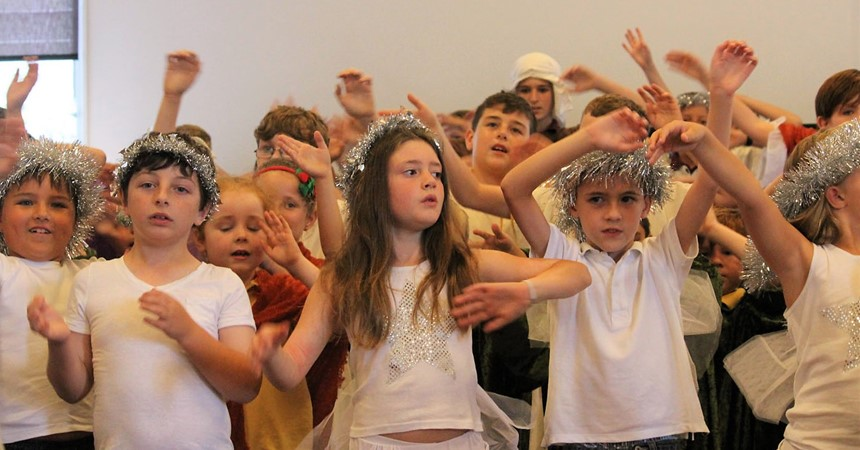 St Francis Xavier gather to celebrate Christmas  IMAGE