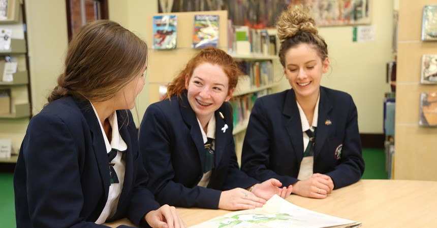 Expanding vocabularies at All Saints' College, St Mary's Campus IMAGE
