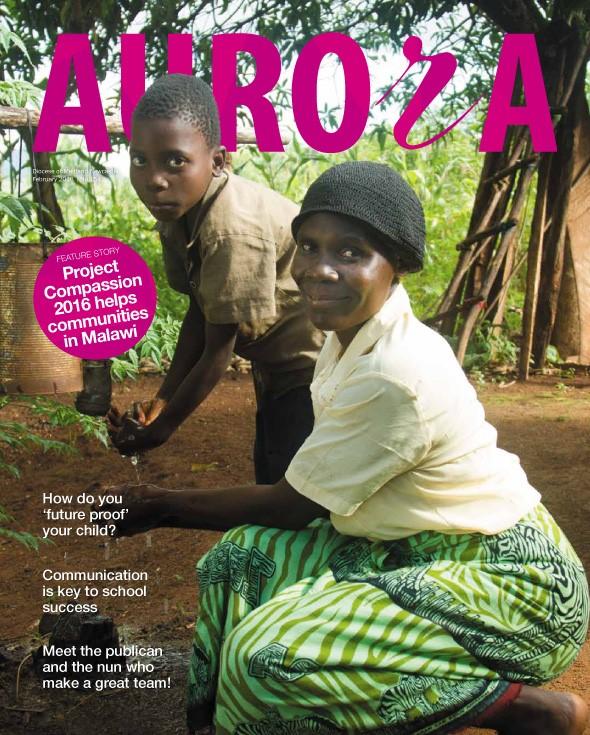 Aurora February 2016 Cover Image