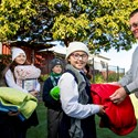 Blanket drive creates warm feeling  Image