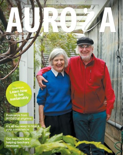 Aurora Magazine August 2016 Cover